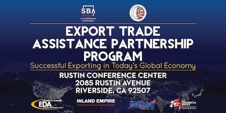 Export Trade Assistance Partnership 2019 (ETAP) tickets