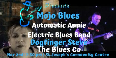MOJO BLUESAutomatic Annie Electric Blues Band,Dogfinger Steve,The Blues  Co tickets