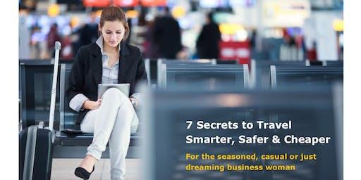 Women Entrepreneurs Org Jun 19 Meeting: 7 Secrets to Travel Smarter, Safer & Cheaper
