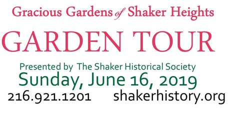 15th Annual Gracious Gardens of Shaker Heights Tour tickets