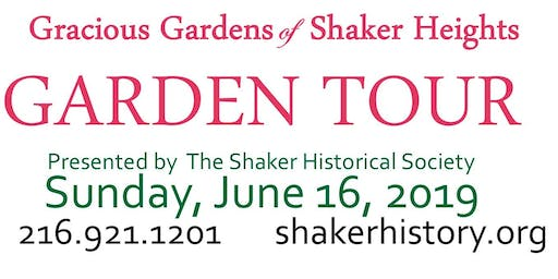 15th Annual Gracious Gardens of Shaker Heights Tour
