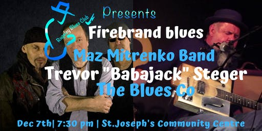 "FIREBRAND BLUES  Maz Mitrenko Band,Trevor ""Babajack"" Steger,The Blues Co"