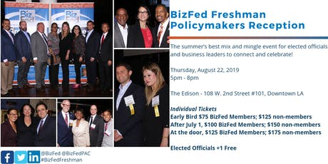 BizFed Freshman Policymakers Reception, 2019 tickets