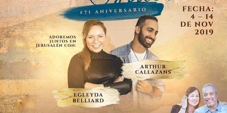 Tour Privado con Egleyda Belliard & Arthur Callazans tickets