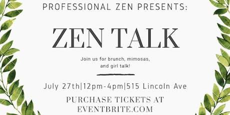 Zen Talk: Rose All Day Brunch  entradas
