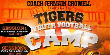 Tigers Youth Football Camp tickets