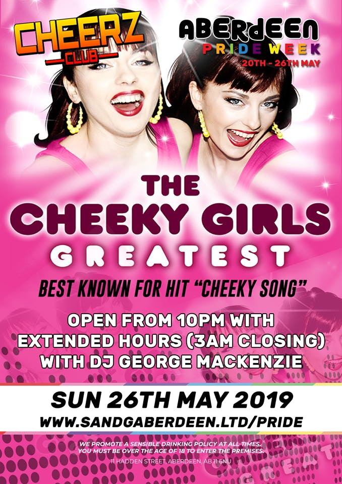 The Cheeky Girls (LIVE)