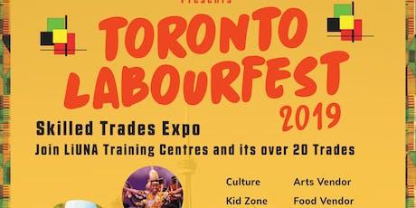 Toronto Labour Fest 2019 tickets