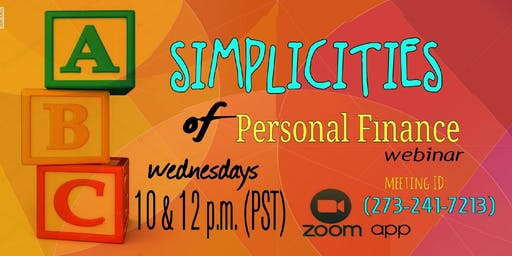 Simplicities of Personal Finance - ATL