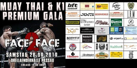 Face2Face Muay Thai Premium Gala Tickets