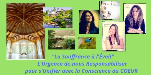 Conférence & Expérience Gustative Crue, La Souffrance à l'Éveil
