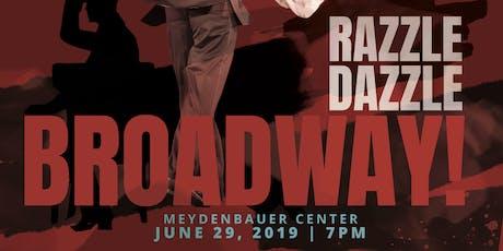 Razzle Dazzle Broadway Showcase tickets