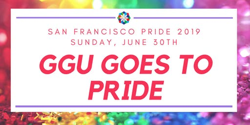 March with GGU in the SF Pride Parade!