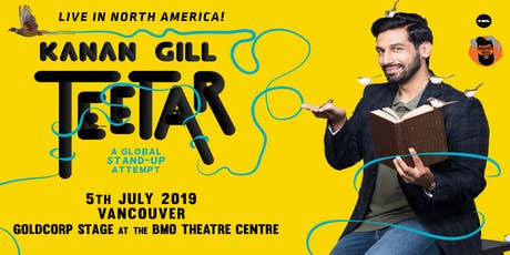 Kanan Gill Teetar - A Global Stand-up Attempt (Vancouver) tickets