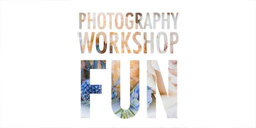Photography Workshop Fun