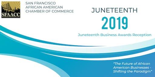 2019 Annual SFAACC Juneteenth Awards Reception