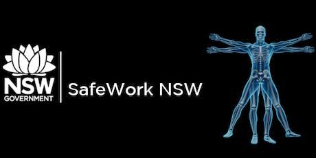 SafeWork NSW - Gunnedah -PErforM Workshop tickets