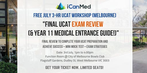 Final UCAT Exam Review (& Year 11 Medical Entrance Guide!)