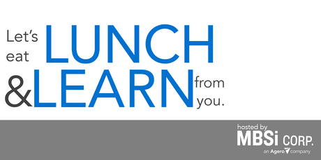 MBSi's Washington D.C. Area Lunch & Learn tickets