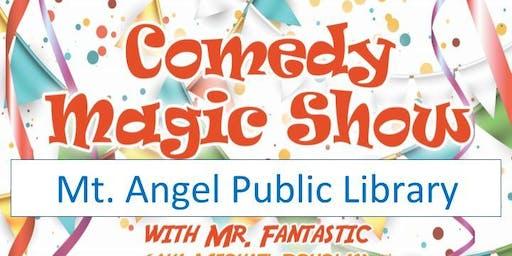 Mt. Angel Library Magic Show