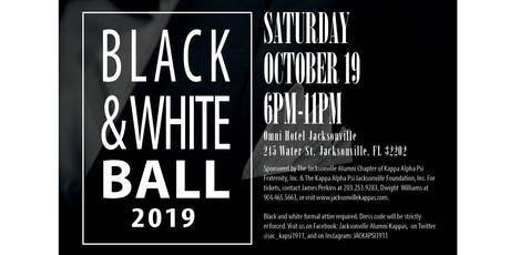Black & White Ball 2019																																										  Presented by The Kappa Alpha Psi Jacksonville Foundation, Inc. tickets