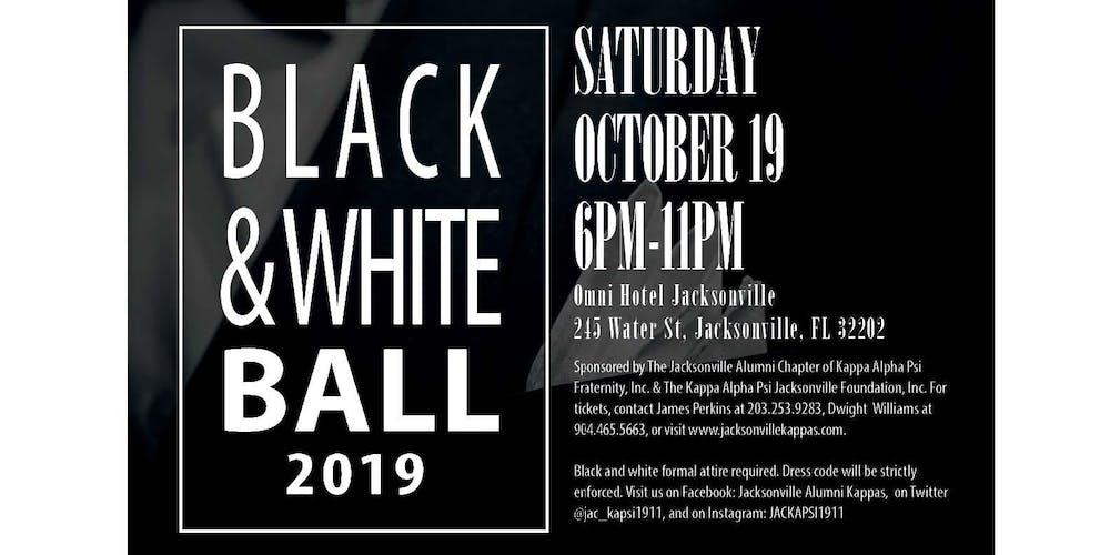Black & White Ball 2019 Presented by The Kappa Alpha Psi