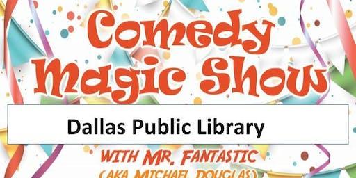 Dallas Library Magic Show