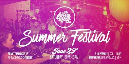 TBBR's Summer Festival