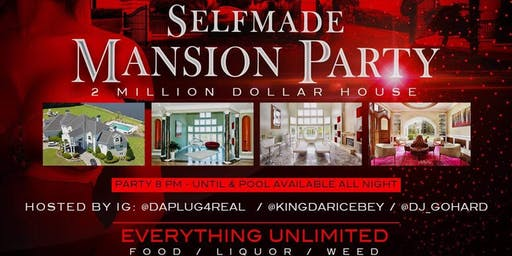Big mansion party