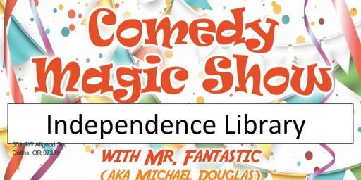Independence Library Magic Show