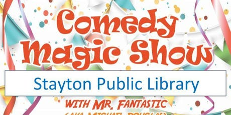 Stayton Library Magic Show tickets