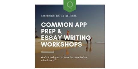 College Common App Prep & Essay Writing Workshop tickets