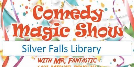 Silver Falls Library Magic tickets