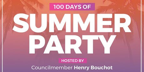 100 Days of Summer Party tickets