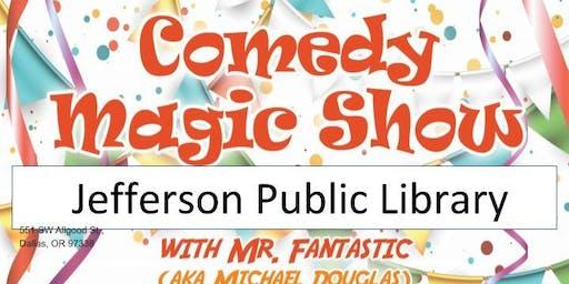 Jefferson Library Magic Show