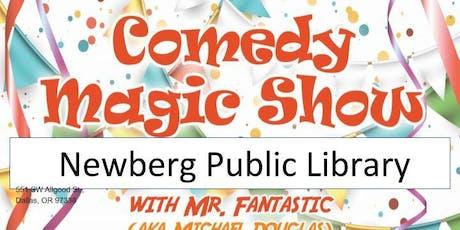 Newberg Library Magic Show tickets