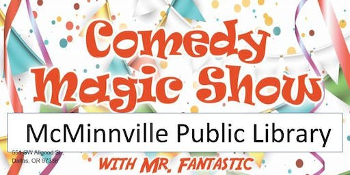 McMinnville Library Magic Show