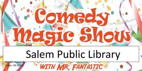 Salem Library Magic Show tickets