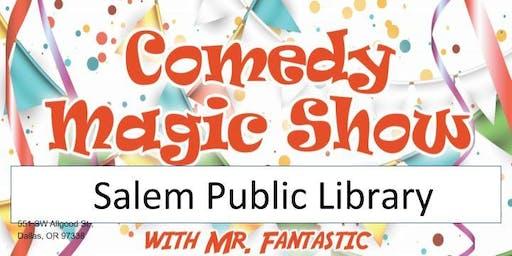 Salem Library Magic Show