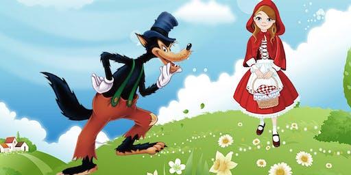 """DESCONTO! Espetáculo """"Chapeuzinho Vermelho e o Lobo Bonzinho"""" no Teatro Dr Botica"""