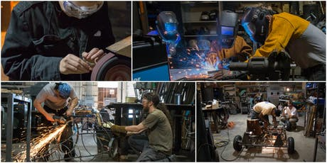 Intro to MIG welding with Fred Manke 8.13.19 tickets
