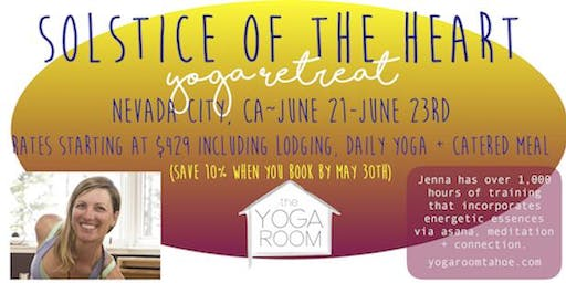 Solstice of the Heart~Yoga Retreat