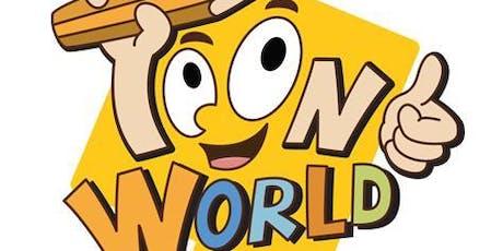 School Holiday Programme - Cartooning with Toonworld (5-8) tickets