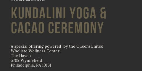 Kundalini Yoga and Cacao Ceremony @TheHaven