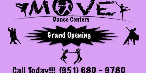 MOVE Dance Centers Grand Opening Party