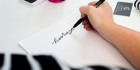 Intro to Hand Lettering with Jesi Parker Ekonen from Just Follow Your Art tickets