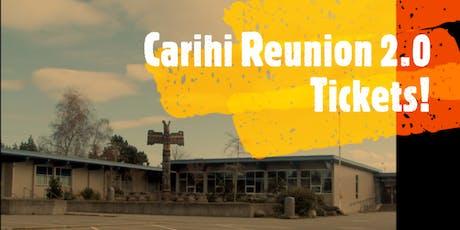 Carihi Grad '99 - Reunion 2.0 tickets