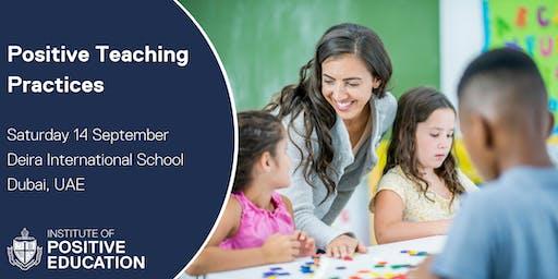 Positive Teaching Practices, Dubai (September 14, 2019)