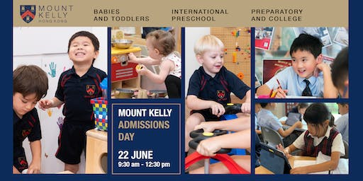 Mount Kelly Hong Kong Admissions Day