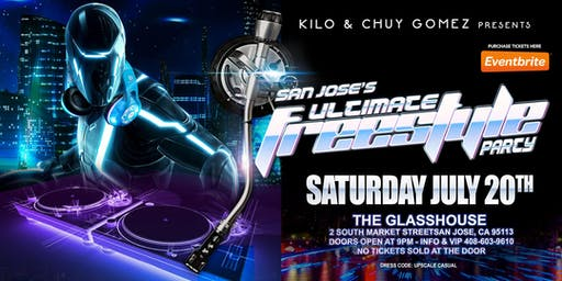 San Jose's Ultimate Freestyle Party